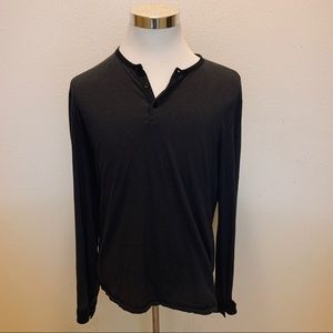 John Varvatos L Long sleeved henly